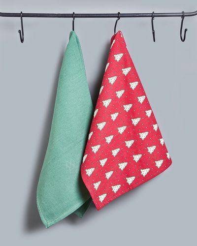 Helen James Considered Tree Tea Towels - Pack Of 2