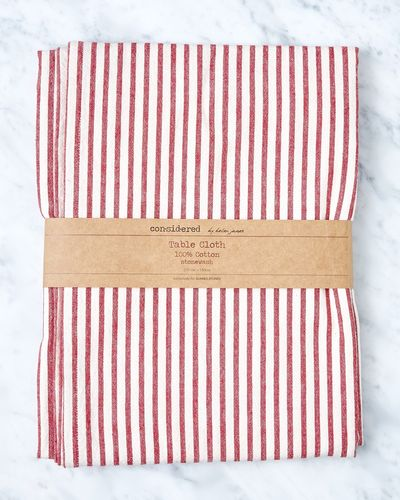 Helen James Considered Stripe Tablecloth