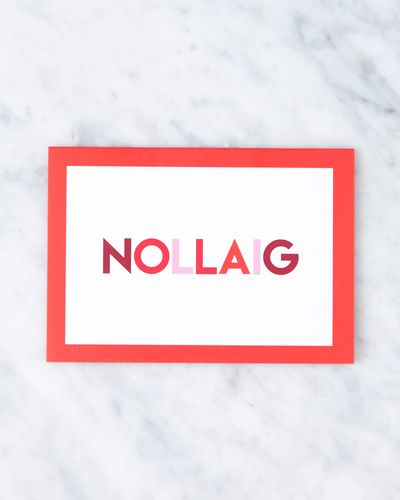 Helen James Considered Nollaig Cards - Pack Of 2