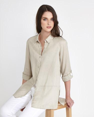 stonePaul Costelloe Living Studio Linen Shirt