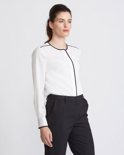 Paul Costelloe Living Studio Piped Blouse thumbnail
