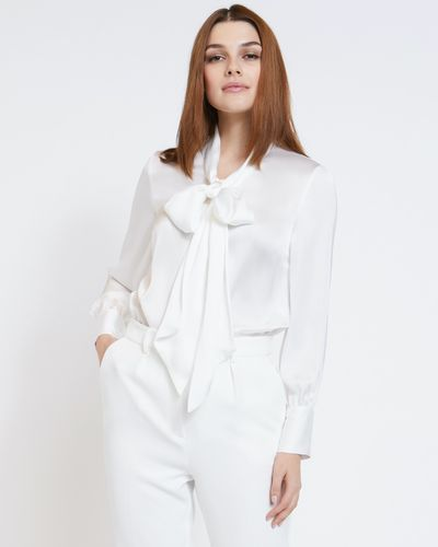 Paul Costelloe Living Studio Pussybow Blouse