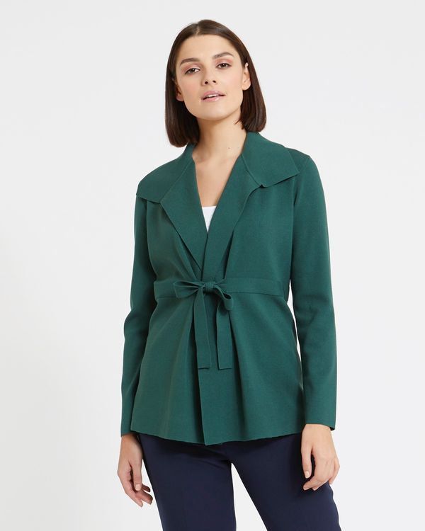Paul Costelloe Living Studio Wrap Cardigan