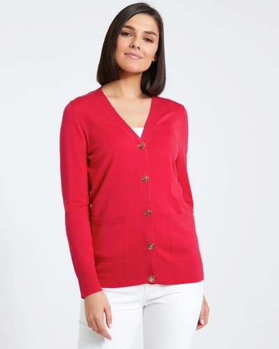 Paul Costelloe Living Studio Button Cardigan thumbnail