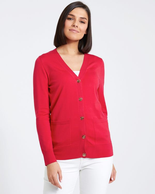 Paul Costelloe Living Studio Button Cardigan