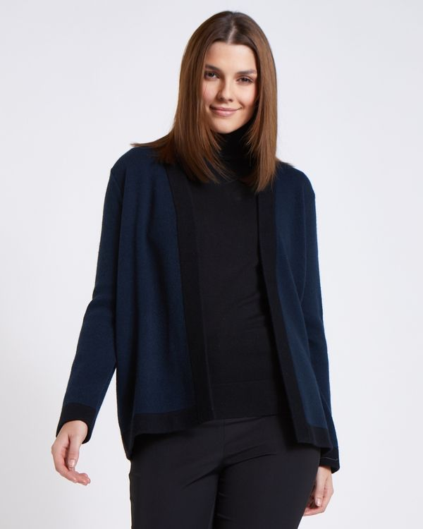 Paul Costelloe Living Studio Navy Lady Cardigan