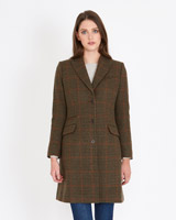 brown Paul Costelloe Living Studio Reggio Coat