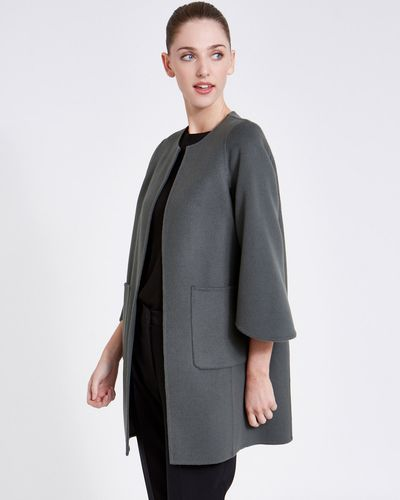 Paul Costelloe Living Studio Crew Edge Coat