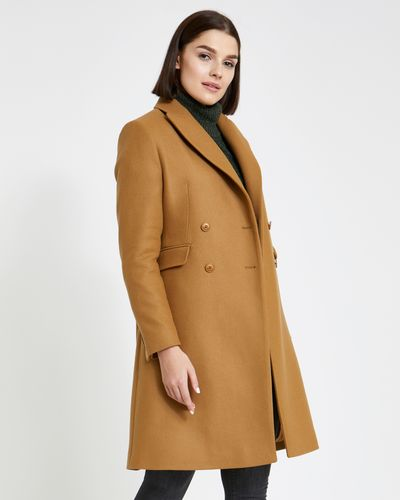 Paul Costelloe Living Studio Double Breasted Coat thumbnail