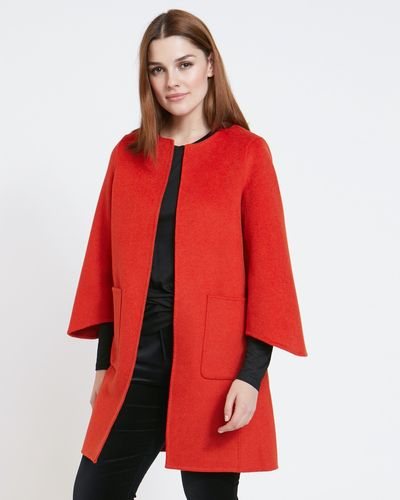 Paul Costelloe Living Studio Orange Evie Coat
