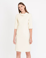 cream Paul Costelloe Living Studio Calabria Dress