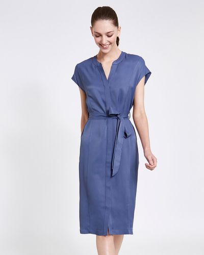 Paul Costelloe Living Studio Midi Tie Dress