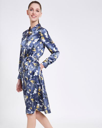 Paul Costelloe Living Studio Floral Placket Dress