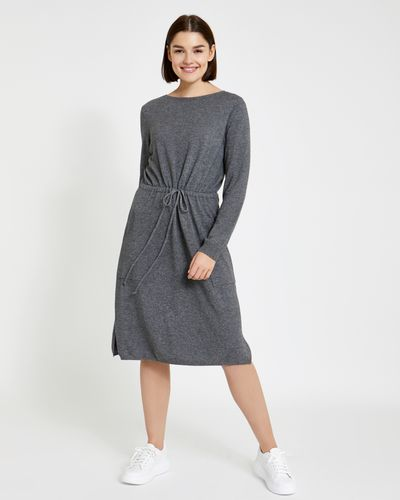 Paul Costelloe Living Studio Drawstring Knit Dress thumbnail