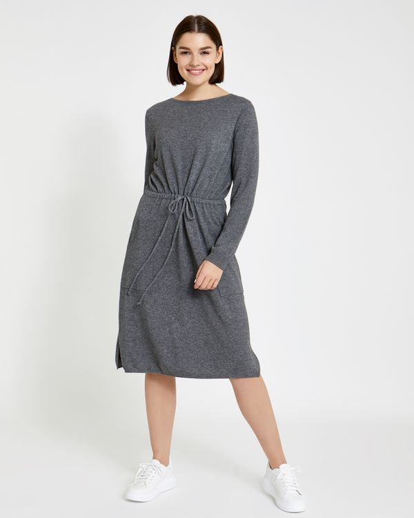 Paul Costelloe Living Studio Drawstring Knit Dress