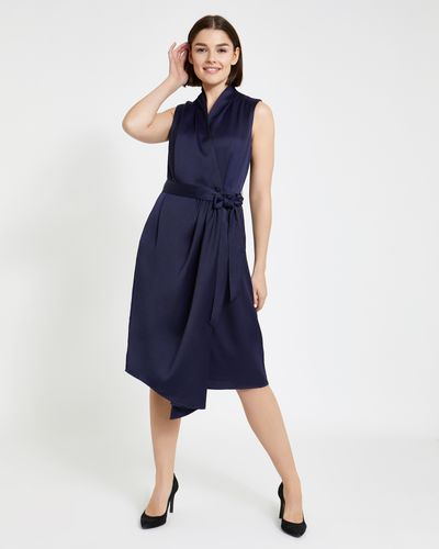 Paul Costelloe Living Studio Vee Wrap Dress