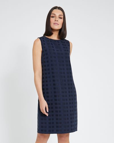 Paul Costelloe Living Studio Boat Neck Shift Dress