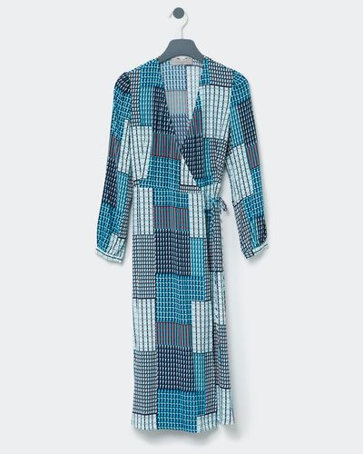 Paul Costelloe Living Studio Barcelona Wrap Dress thumbnail