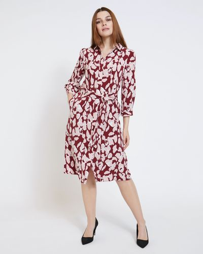 Paul Costelloe Living Studio Abstract Leopard Dress