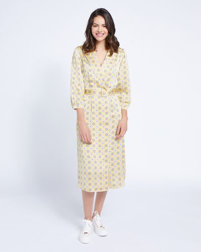 Paul Costelloe Living Studio Collar Revere Dress thumbnail