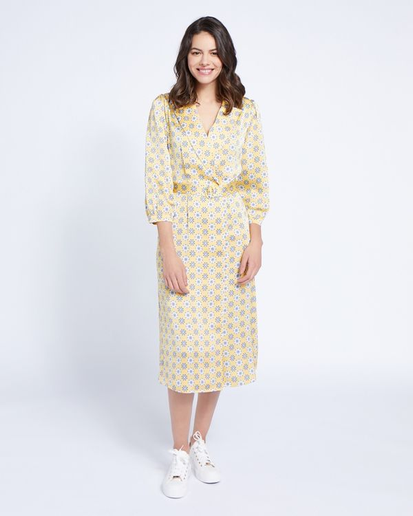 Paul Costelloe Living Studio Collar Revere Dress