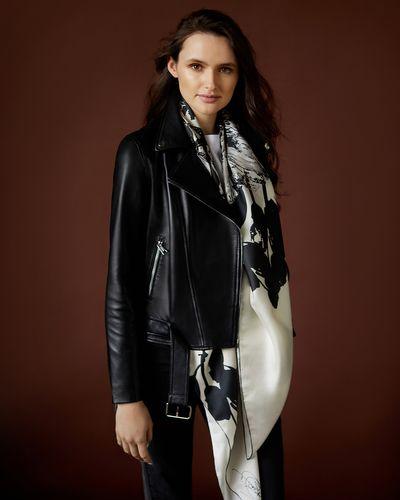 Paul Costelloe Living Studio Leather Jacket