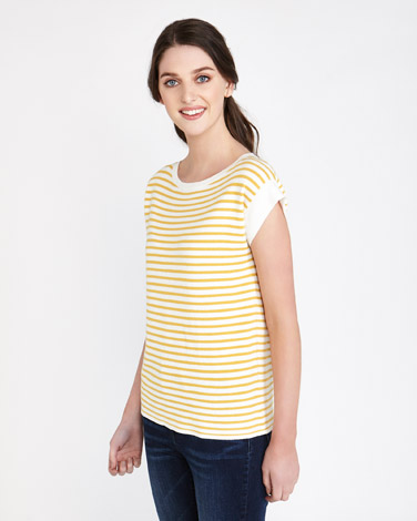 ochre Paul Costelloe Living Studio Summer Stripe Jumper