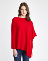 red Paul Costelloe Living Studio Luxury Poncho