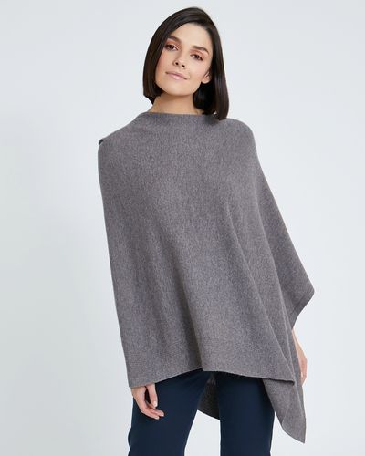 Paul Costelloe Living Studio Rib Edge Poncho thumbnail