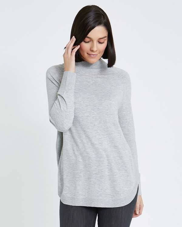 Paul Costelloe Living Studio Funnel Neck Jumper