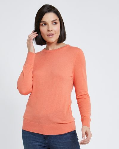 Paul Costelloe Living Studio Cashmere Blend Crew-Neck Jumper