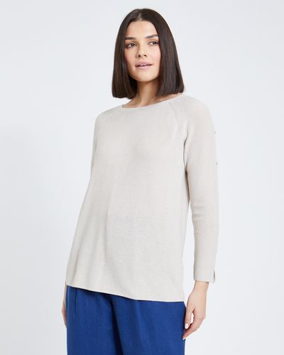 Paul Costelloe Living Studio Silk Blend Jumper thumbnail
