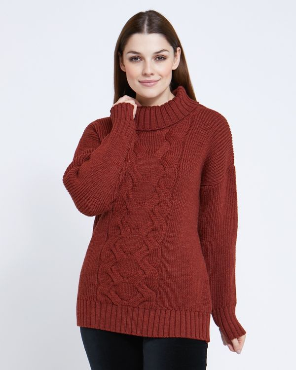 Paul Costelloe Living Studio Sienna Cable Knit Jumper
