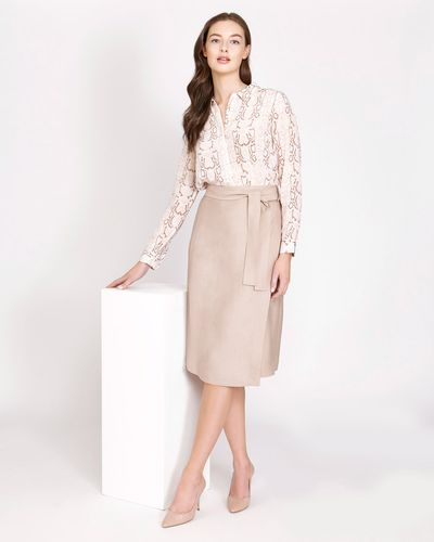 Paul Costelloe Living Studio Bari Wrap Skirt
