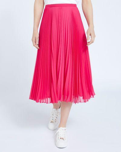 Paul Costelloe Living Studio Pink Pleat Skirt