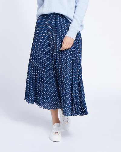 Paul Costelloe Living Studio Geo Print Skirt