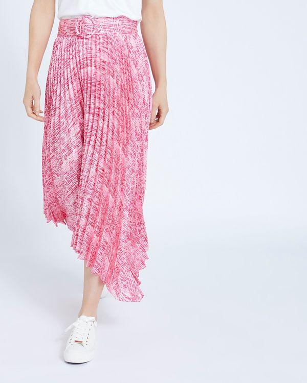 Paul Costelloe Living Studio Pleat Belt Malena Skirt