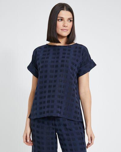 Paul Costelloe Living Studio Textured T-Shirt