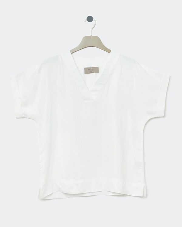 Paul Costelloe Living Studio V-Neck Top