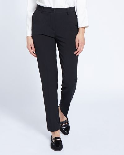 Paul Costelloe Living Studio Tapered Leg Trousers thumbnail