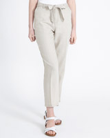 stone Paul Costelloe Living Studio Linen Trousers