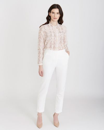Paul Costelloe Living Studio Tailored Texture Trousers