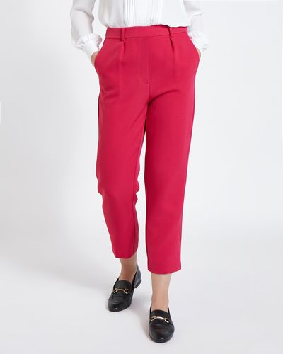 Paul Costelloe Living Studio Pink Dart Trouser thumbnail