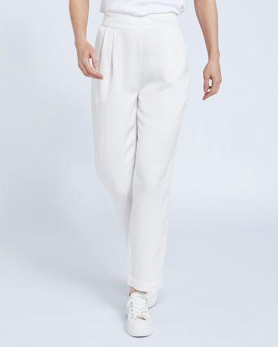 Paul Costelloe Living Studio Viscose Linen Trouser