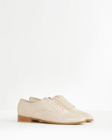 pink Paul Costelloe Living Studio Lady Brogues