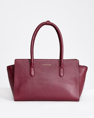 burgundyPaul Costelloe Living Studio Lady Bag