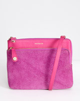 pink Paul Costelloe Living Studio Two Tone Cross Body