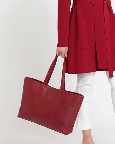 Paul Costelloe Living Studio Leather Shopper Tote Bag