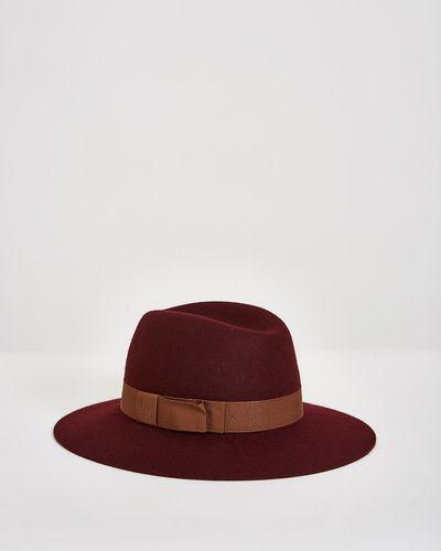 Paul Costelloe Living Studio Wool Fedora Hat thumbnail