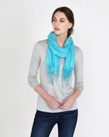 aqua Paul Costelloe Living Studio Cashmere Blend Scarf